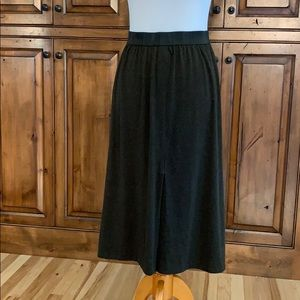 Zara TRF Skirt - New - Dark Olive Green Midi